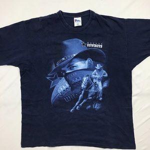 Vintage Dallas Cowboys NFL single stitch